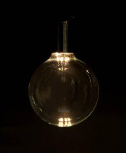 LED light bulb large globe day glow