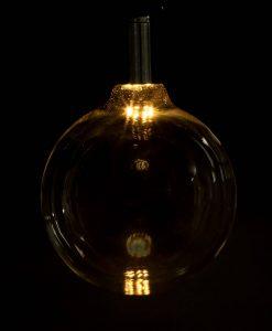 LED light bulb extra large globe vintage glow