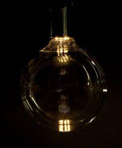 LED light bulb extra large globe day glow
