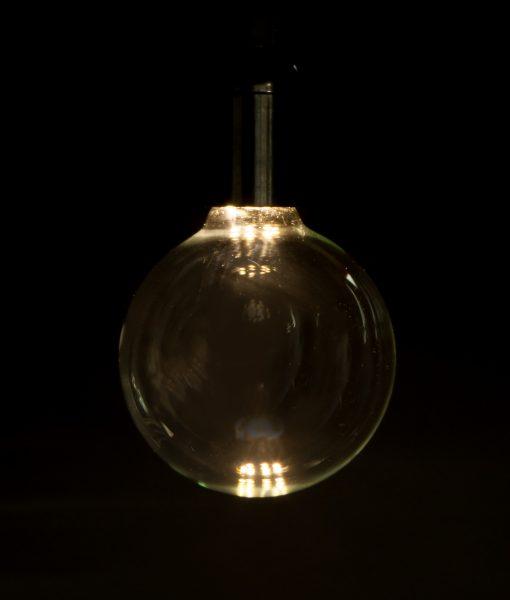 led light bulb large globe day glow vintage led bulbs. Black Bedroom Furniture Sets. Home Design Ideas