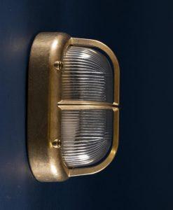 bulkhead light Brian brass industrial bathroom lighting