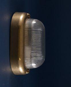 Bulkhead Light Mike brass industrial bathroom lighting