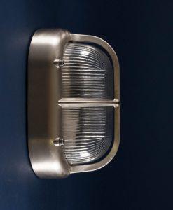 Bulkhead Light Brian silver industrial bathroom lighting