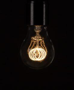LED Filament Bulb Quad Loop Warm Glow Vintage LED Bulbs