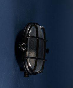 Bulkhead Light Mark Black industrial bathroom lighting