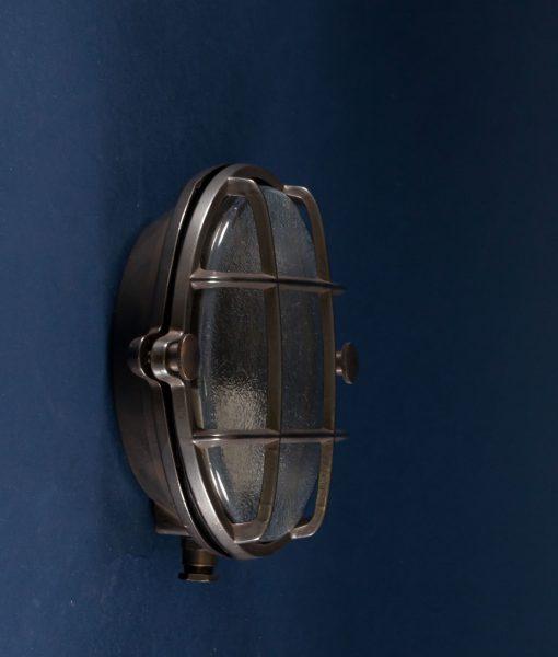 Bulkhead Light Mark aged pewter
