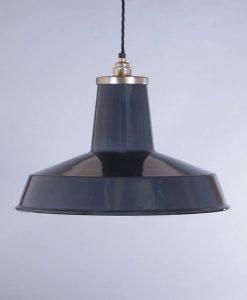 industrial lamp shade grey linton
