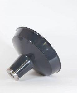 linton industrial lamp shade grey
