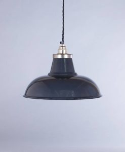 industrial lamp shade grey morley