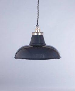 industrial lamp shade grey morley