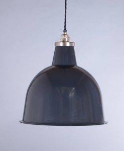 industrial lamp shade grey stourton