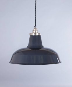 industrial lamp shade grey burley