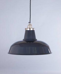industrial lamp shade grey burley