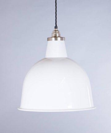 industrial lamp shade white stourton