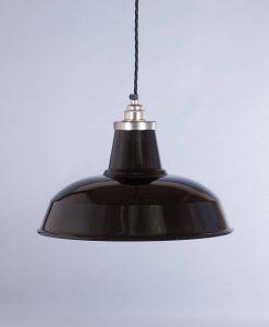 industrial lamp shade black burley