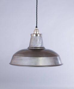 industrial lamp shade raw steel burley