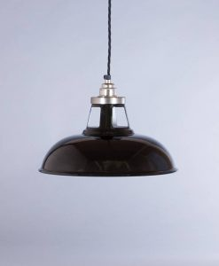 industrial lamp shade black farsley