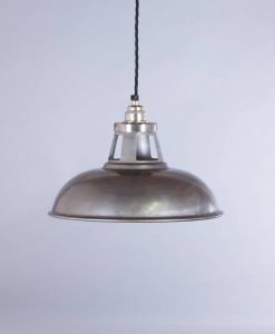 industrial lamp shade raw steel farsley