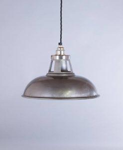 industrial lamp shade raw steel farsley