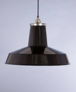 industrial lamp shade black linton