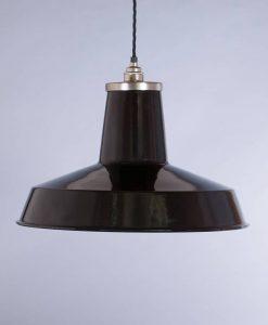 industrial lamp shade black linton