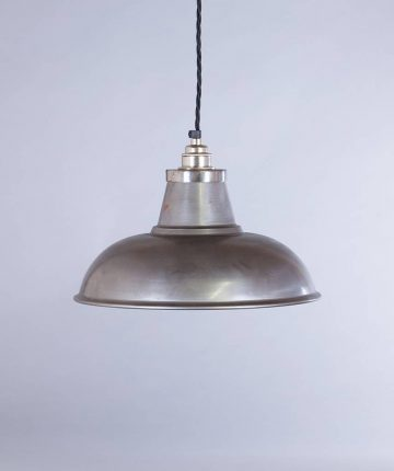 industrial lamp shade raw steel morley