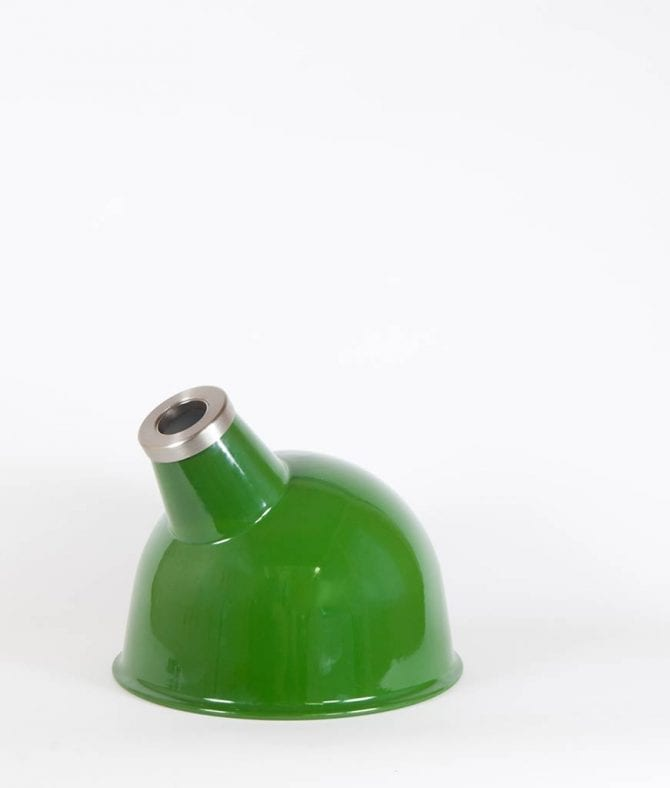 oulton industrial lamp shade green