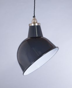 industrial lamp shade grey oulton