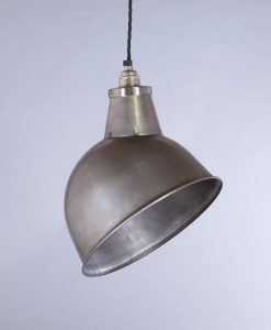 industrial lamp shade raw steel oulton