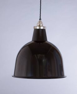industrial lamp shade black stourton