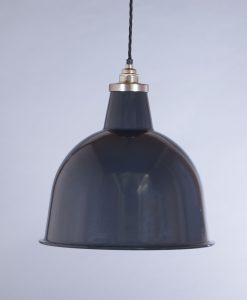 industrial lamp shade grey stourton