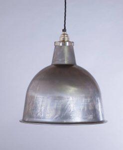 industrial lamp shade raw steel stourton