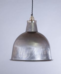 industrial lamp shade raw steel stourton