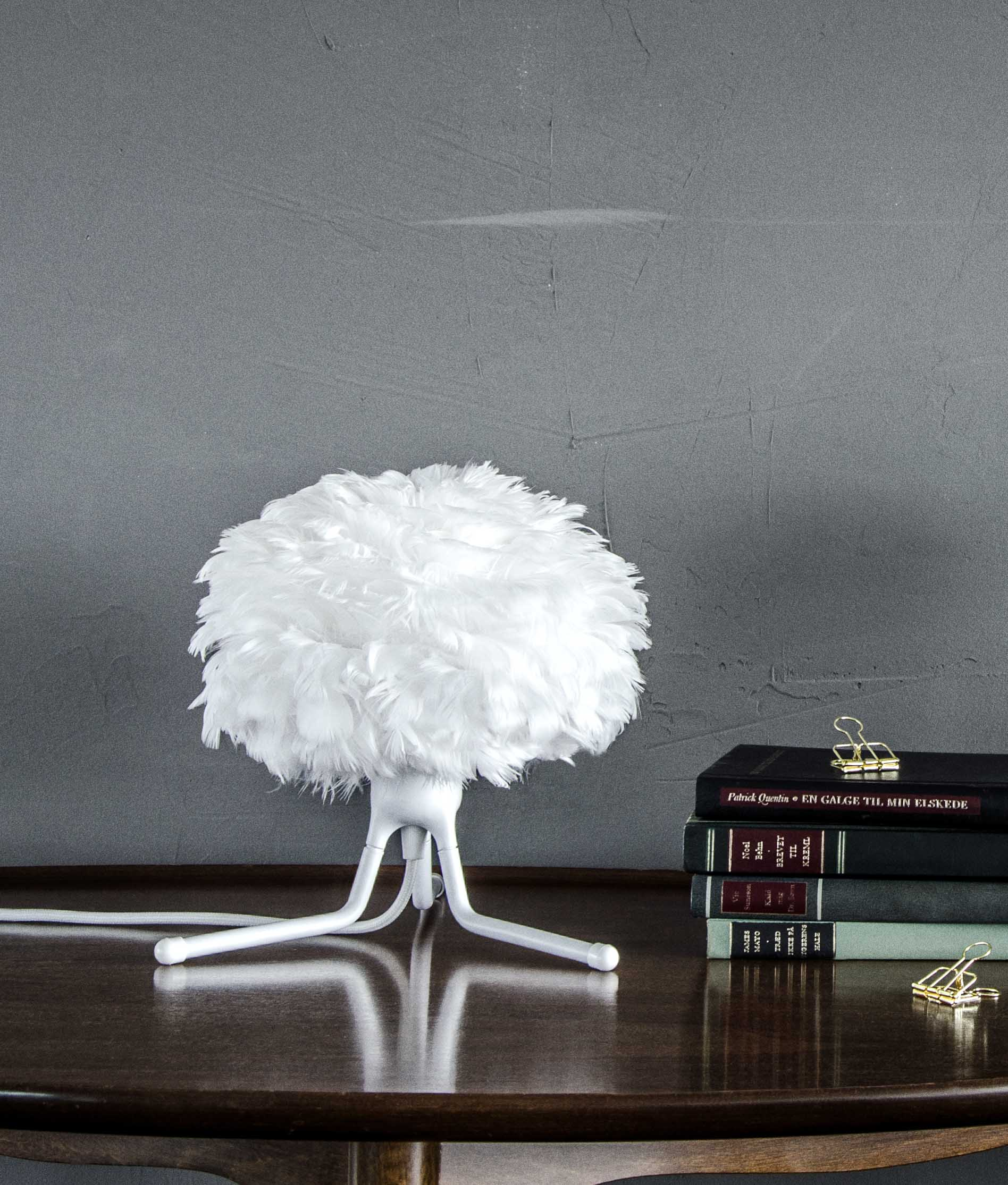 Vita Feather Light Shade Micro Eos White 22 X 16cms