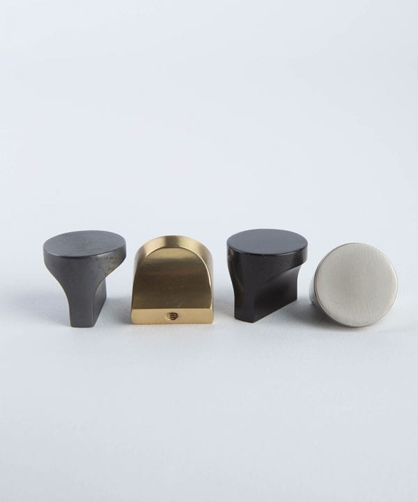 Abstract kitchen drawer knobs