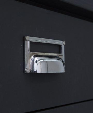 ABODE kitchen door handle silver