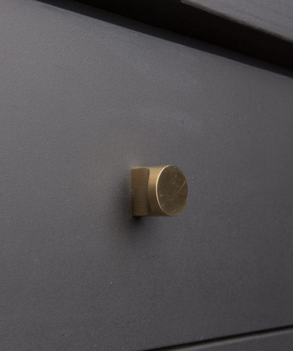 brass Abstract kitchen drawer knobs