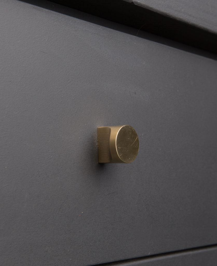 brass Abstract kitchen drawer knobs