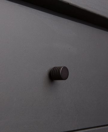 AVANT-GARDE kitchen drawer knobs black
