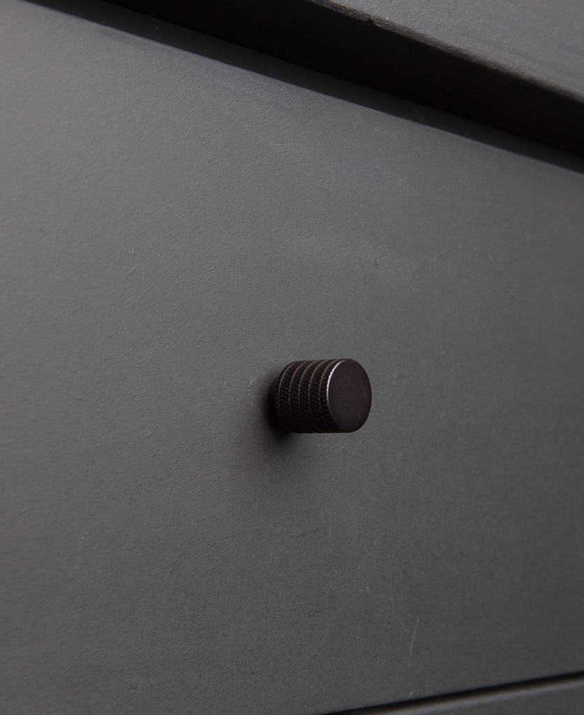 AVANT-GARDE kitchen drawer knobs black
