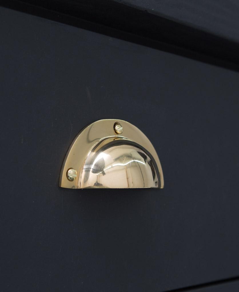 BOTHY kitchen door handle brass