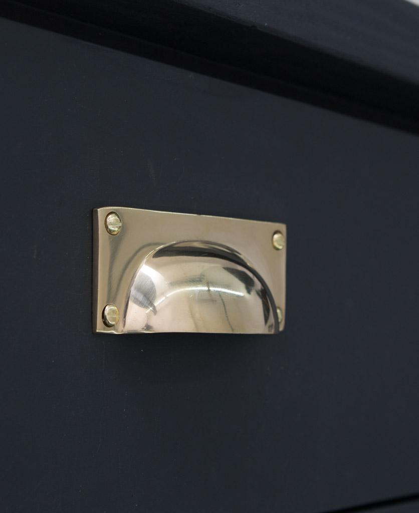 CROFT kitchen door handle brass