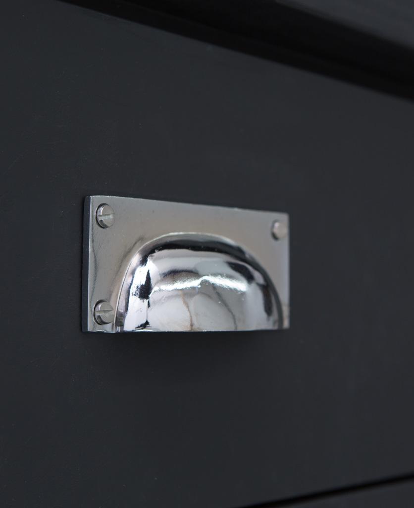 CROFT kitchen door handle silver