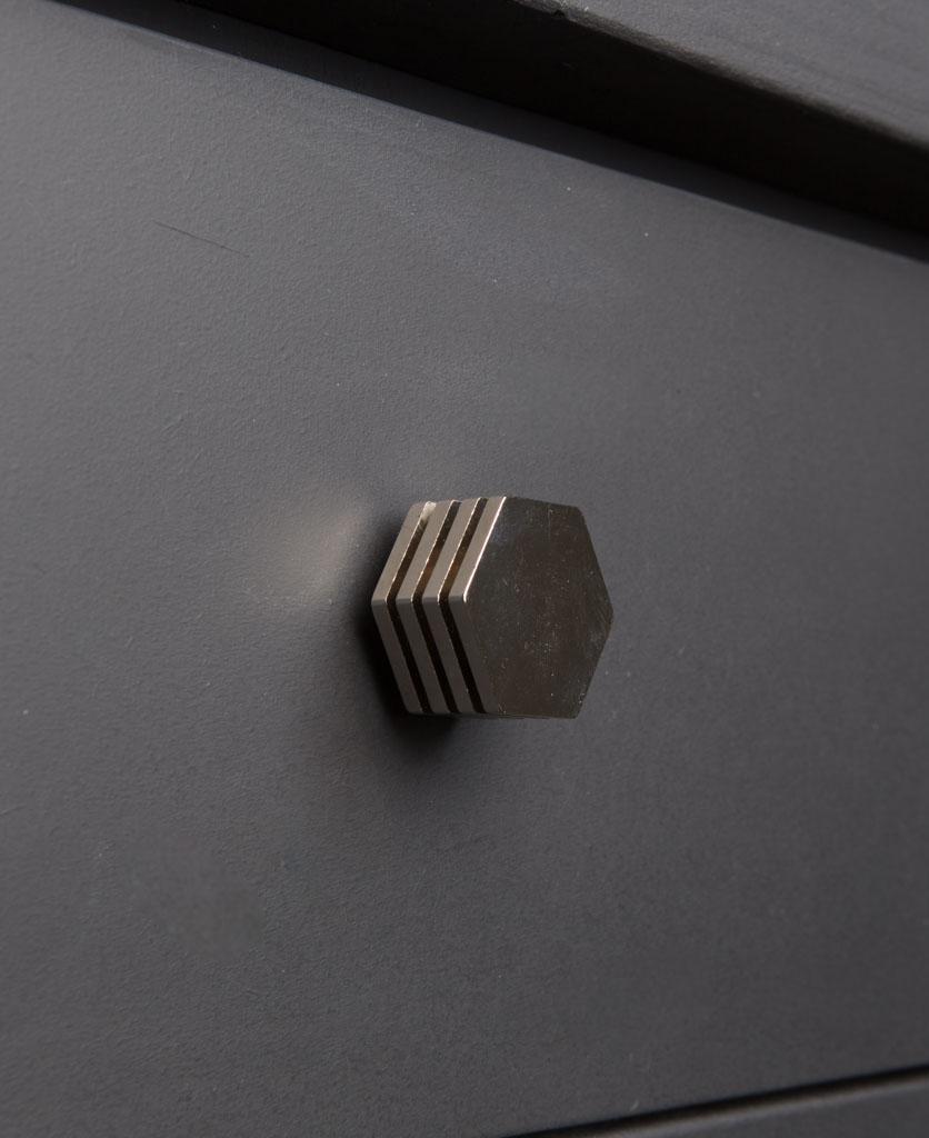 DECO kitchen drawer knobs silver