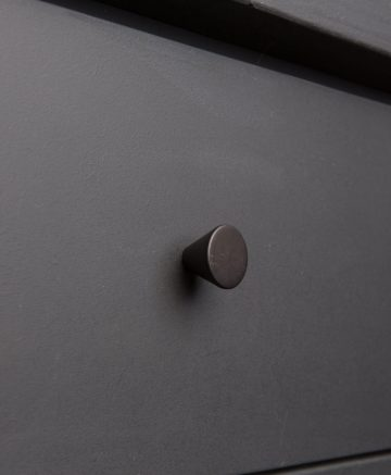 FUTURIST kitchen drawer knobs black