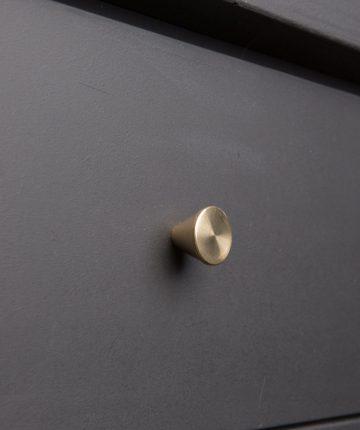 FUTURIST kitchen drawer knobs brass