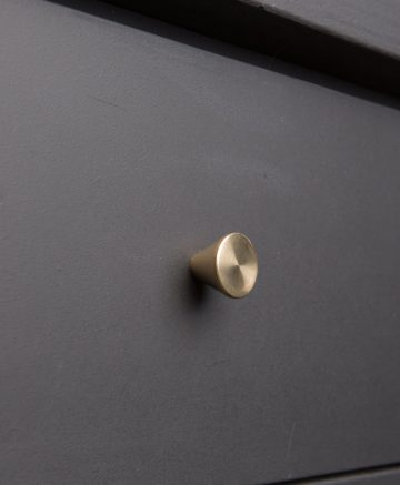 FUTURIST kitchen drawer knobs brass