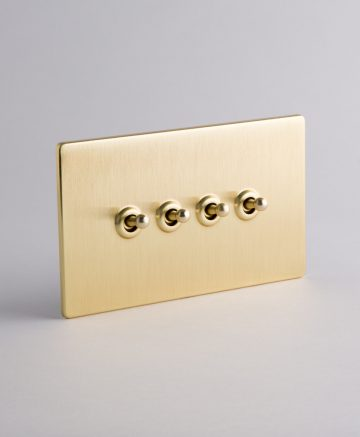 toggle light switch 4 toggle gold