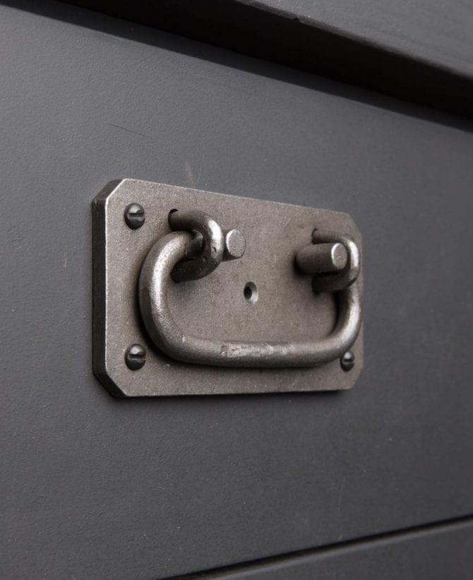 IRON AGE RAW industrial kitchen door handle