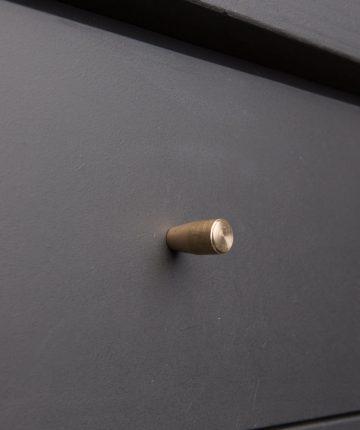 MINIMALIST kitchen drawer knobs brass